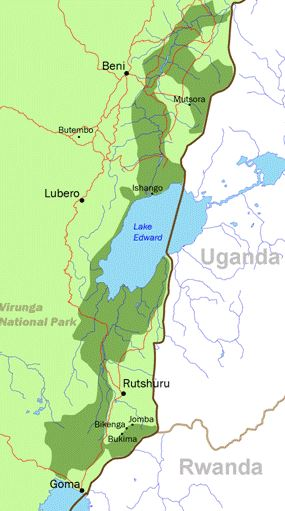Virunga Map